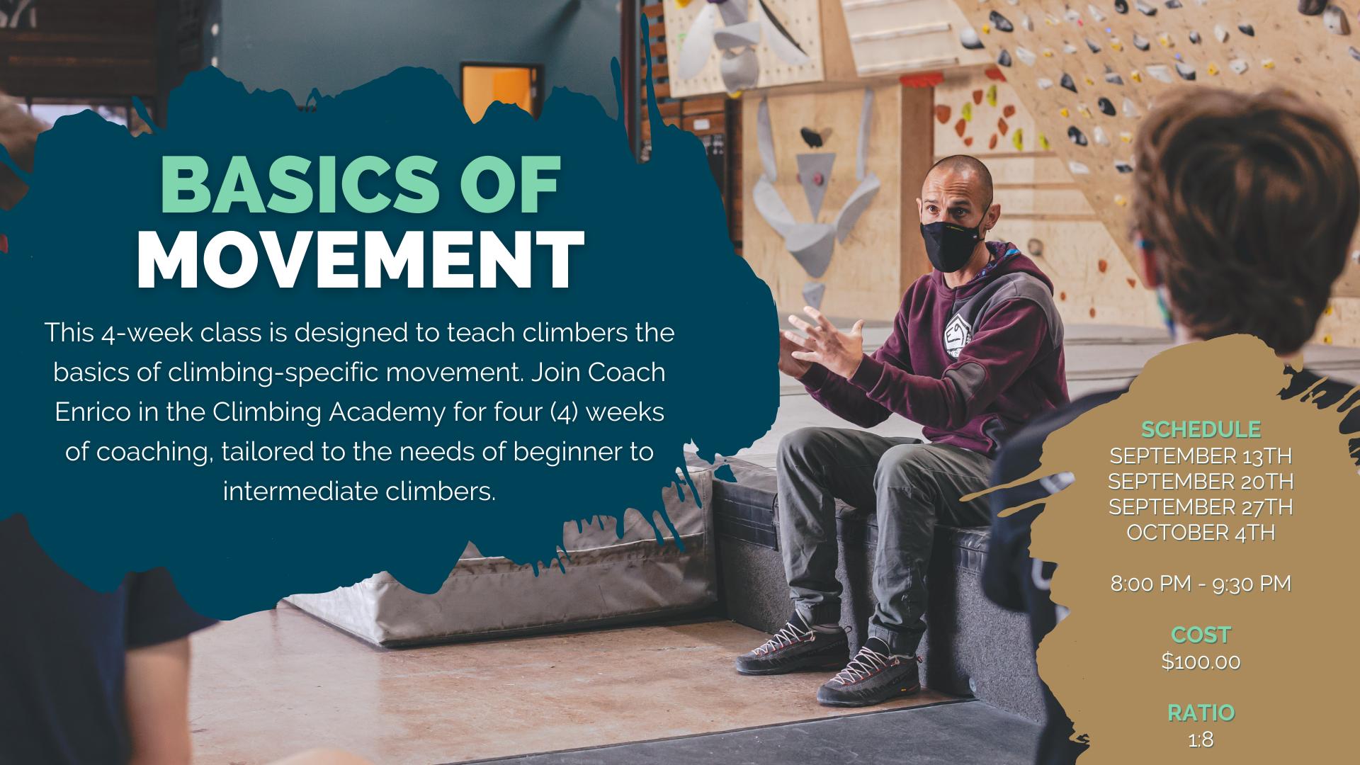 4-Week: Basics of Movement