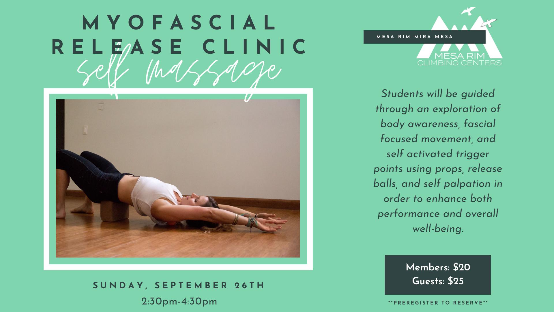 Myofascial Release Clinic