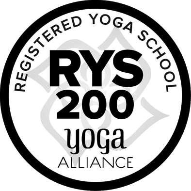 registered yoga school yoga alliance logo