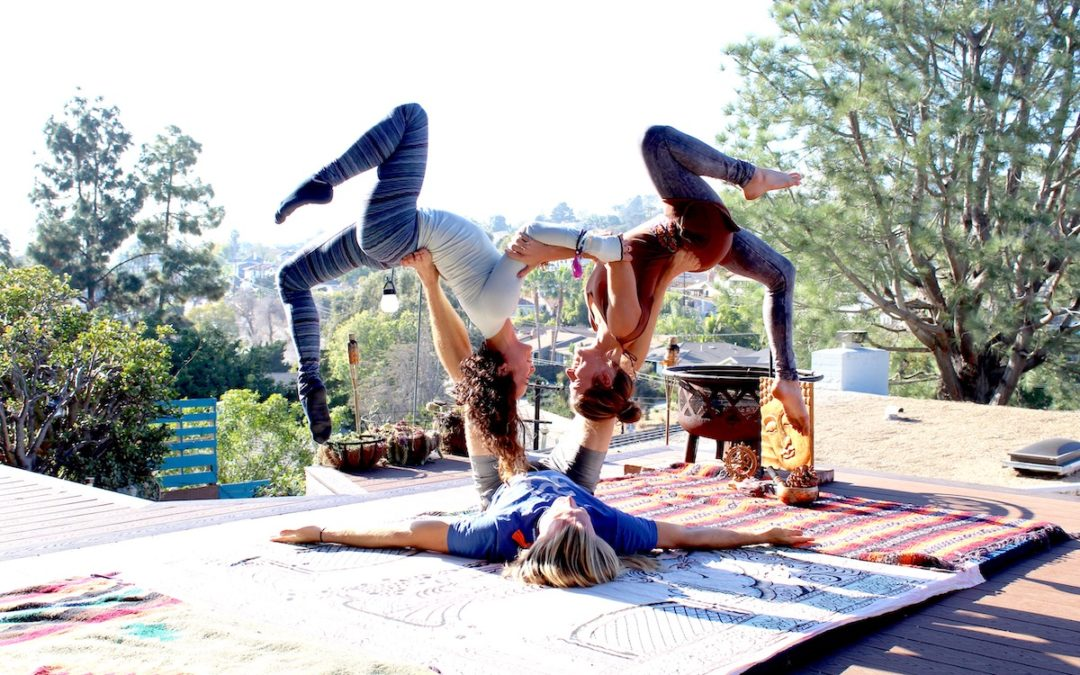 Hearts Are in the Air – Valentines Acro Yoga