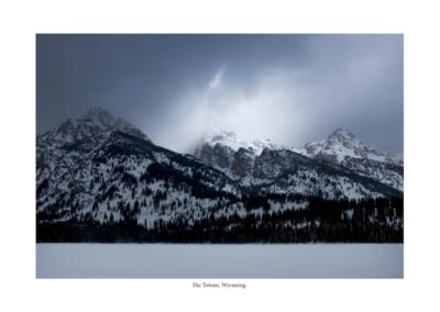 Grand Tetons in winter