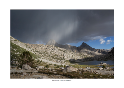 evolution valley, california