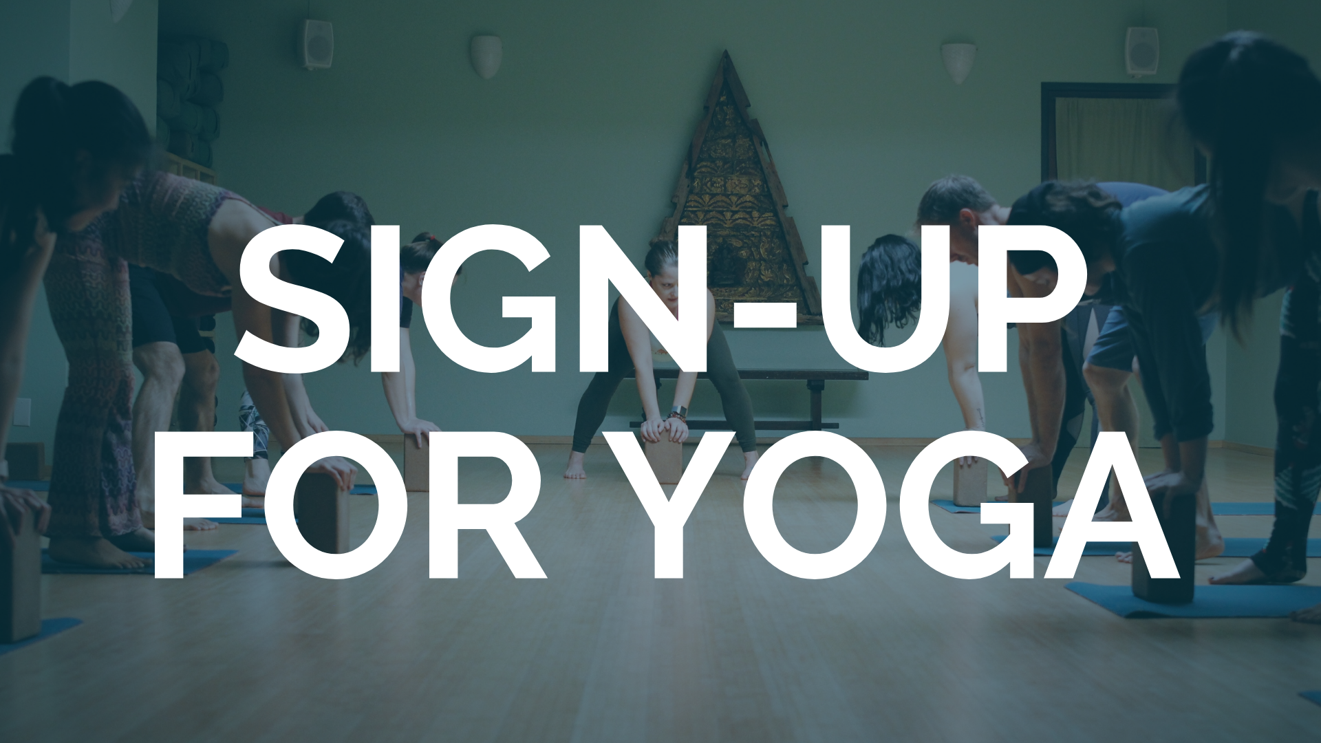 Sign Up for Yoga