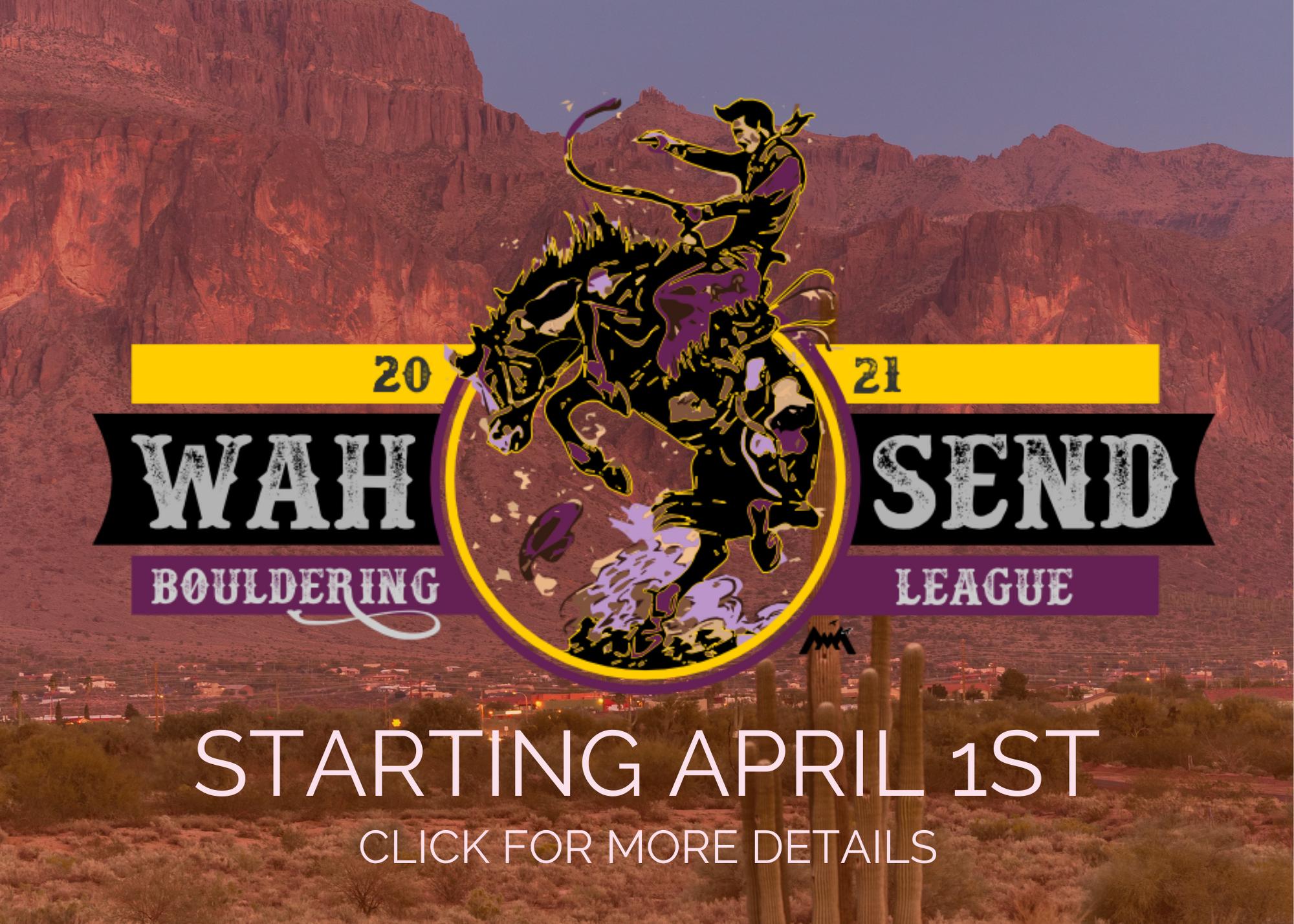 Wah Send Bouldering League